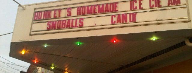 Bonkey's is one of York County homemade ice cream tour.