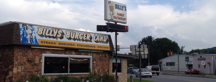Billy's Burger Land is one of Our Partners.