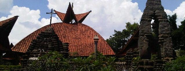 Gereja Maria Lourdes Puhsarang is one of Kaula Lumpur-Singapore-Indonesia-2011.