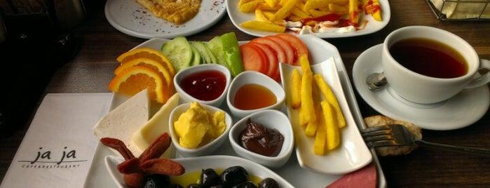 Ja Ja Cafe & Restaurant is one of Cafe&Pastane.