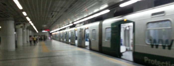 LRT 2 (Katipunan Station) is one of fave spot.