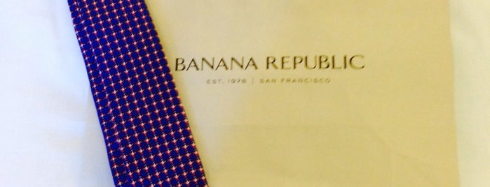 Banana Republic is one of Top picks for Clothing Stores.