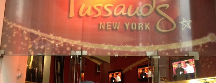 Madame Tussauds New York is one of NYC.