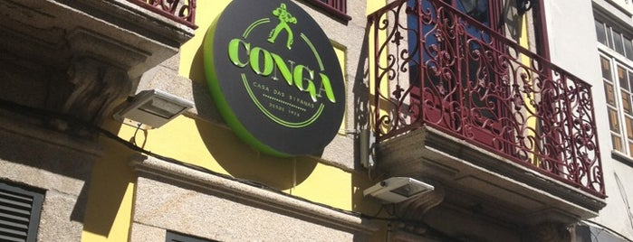 Conga - Casa das Bifanas is one of Porto, Portugal.