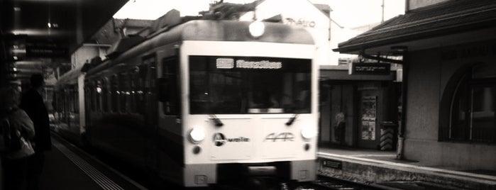 Bahnhof WSB AAR bus+bahn is one of Bahnhöfe Top 200 Schweiz.