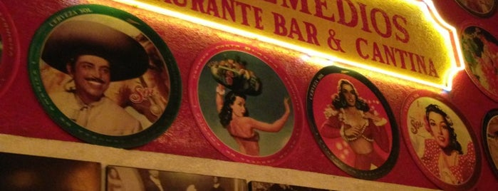 La Cantina de los Remedios is one of Bebidas..