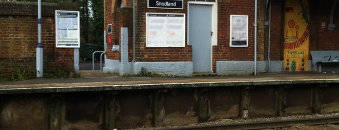 Snodland Railway Station (SDA) is one of Train stations.