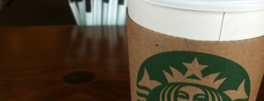 Starbucks is one of Caffeinated in Cleveland.