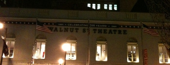 Walnut Street Theatre is one of Love The Arts In Philadelphia #visitUS.