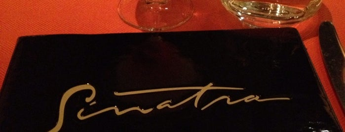 Sinatra is one of food places and things.
