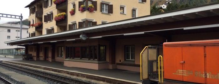 Bahnhof Samedan is one of Bahnhöfe Top 200 Schweiz.