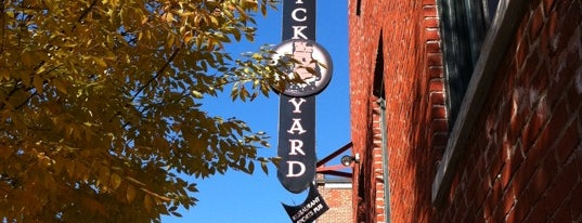 The Brickyard Restaurant and Sports Bar is one of Lancaster.