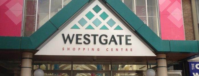 Westgate Shopping Centre is one of Radiohead's Oxford.