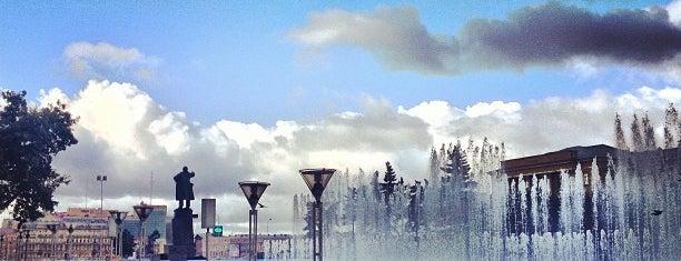Поющие фонтаны is one of Санкт-Петербург.