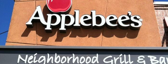 Applebee's is one of My food list....