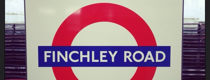 Finchley Road London Underground Station is one of Tube Challenge.