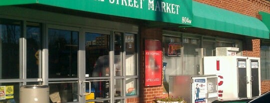Peace Street Market is one of Raleigh Favorites.