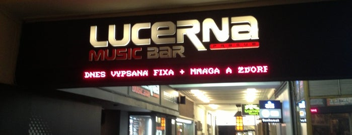 Lucerna Music Bar is one of Top picks for Music Venues.