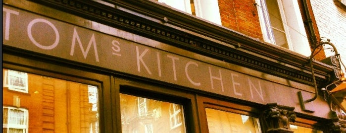 Tom's Kitchen is one of LDN.