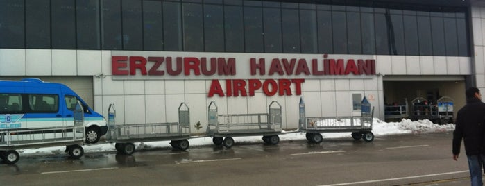 Erzurum Havalimanı (ERZ) is one of Dima airports.