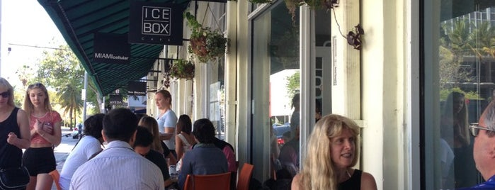 Icebox Cafe is one of favoriteplaces.