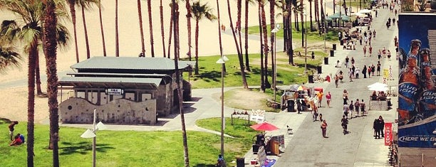 Venice Beach is one of MTV's Hot Music Video Locations.