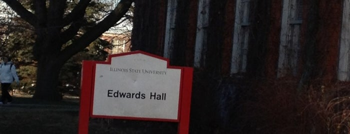Edwards Hall is one of College Life.
