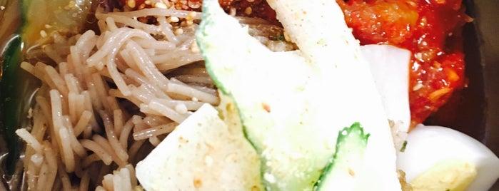 유진막국수 is one of Itaewon food.