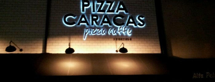 Pizza Caracas. Pizza-Caffe is one of Caracas Wi-Fi.