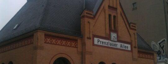 S Prenzlauer Allee is one of Besuchte Berliner Bahnhöfe.