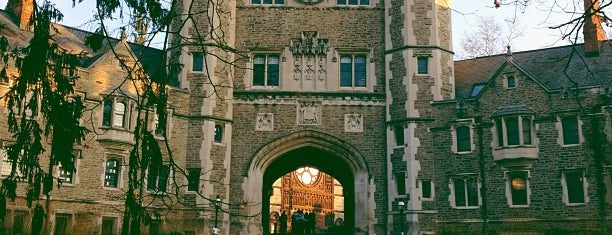 Princeton University is one of New York.