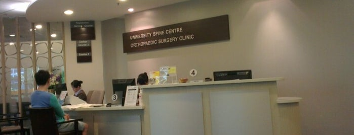 Kent Ridge Wing Orthopeadic Surgery Clinic is one of NUH.