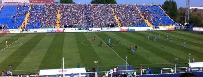 Metallurg Stadium is one of Stadiums.