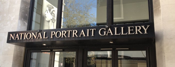 National Portrait Gallery is one of London City Badge - London Calling.