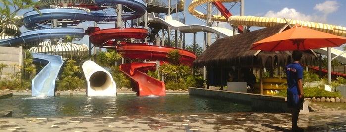 Bugis Waterpark Adventure is one of Makasar.