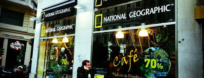 National Geographic Madrid Store is one of @ Madrid (MD, España).