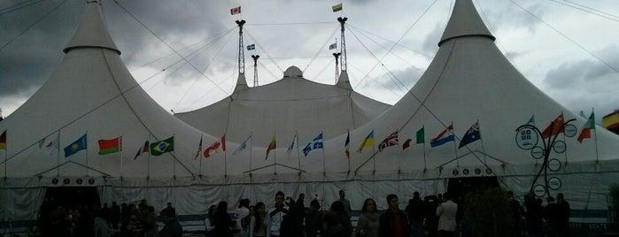 Cirque Du Soleil CORTEO - Carpa Salitre is one of Lugares de Entretenimiento.