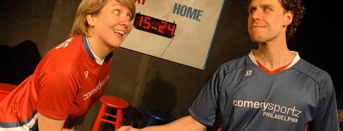 ComedySportz is one of Must-visit Comedy Clubs in Philadelphia.