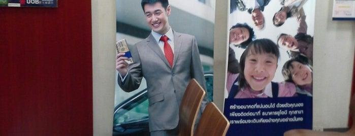 ธนาคารยูโอบี (UOB) is one of ?.