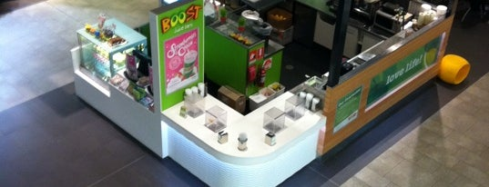 Boost Juice is one of Yumm.