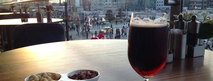 The Marmara Taksim Tuti Restaurant is one of Restoranlar.