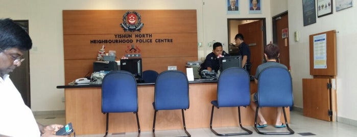 Yishun North Neighbourhood Police Centre is one of Singapore Police Force.