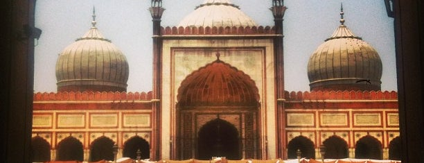 Jama Masjid  |जामा मस्जिद | جامع مسجد is one of India places to visit.