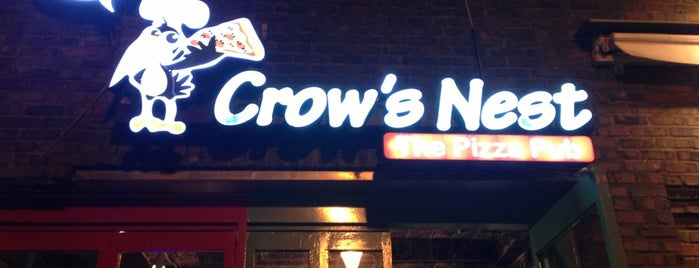 Crow's Nest : The Pizza Pub is one of 먹고 죽으면 때깔도 곱다지.