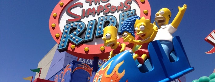 The Simpsons Ride is one of Top picks for Theme Parks.