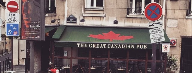 Great Canadian Pub is one of Canucks Fans Gone International.