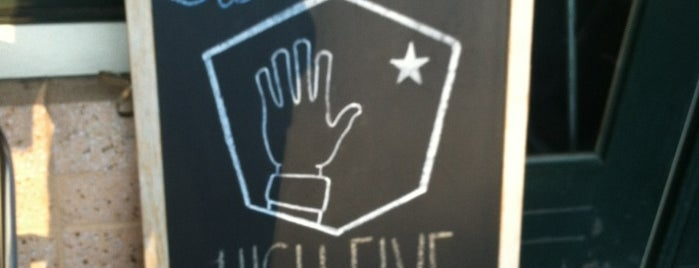 High Five Coffee Bar is one of Asheville All-in-All.