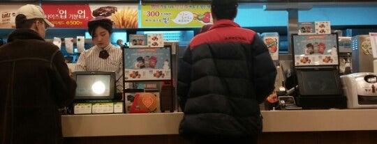 롯데리아 광양점 is one of food.