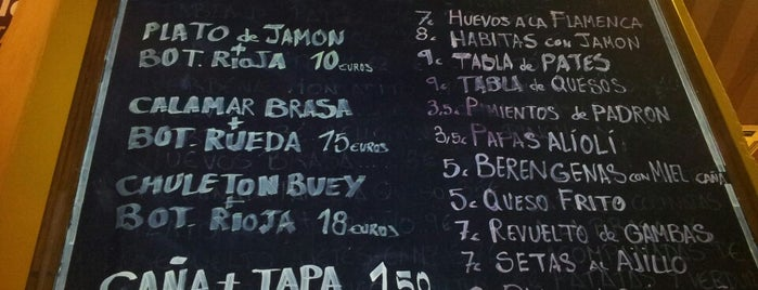 Taberna El Burlaero is one of Restaurantes!!.
