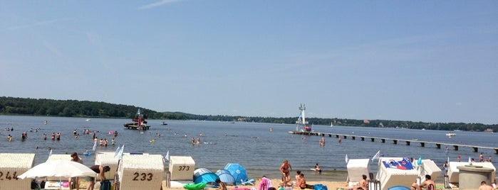 Strandbad Wannsee is one of Berlin beach feeling.